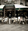 Les Deux Magots, Saint Germain des Pres, Paris, France
