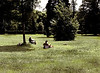 Sunbathers, Meadow of the Grand Trianon, Versailles, France