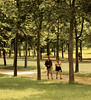 Walkers, Path to the Grand Trianon, Versailles, France
