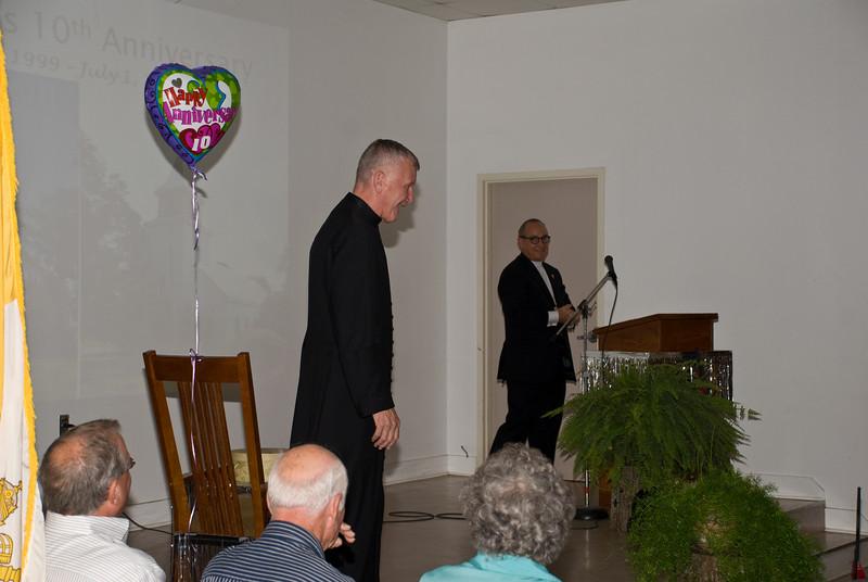 Father Ed's 10th Anniversary Celebration