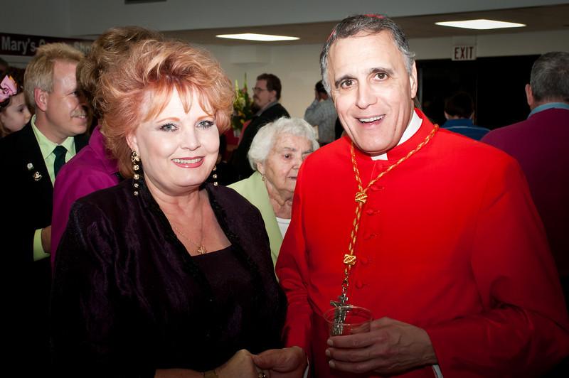 Reception With Cardinal DiNardo