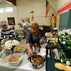 St. Joseph's Table held at St. John the Evangelist Church in Spencerport, blessing by Father Lance Gonyo.