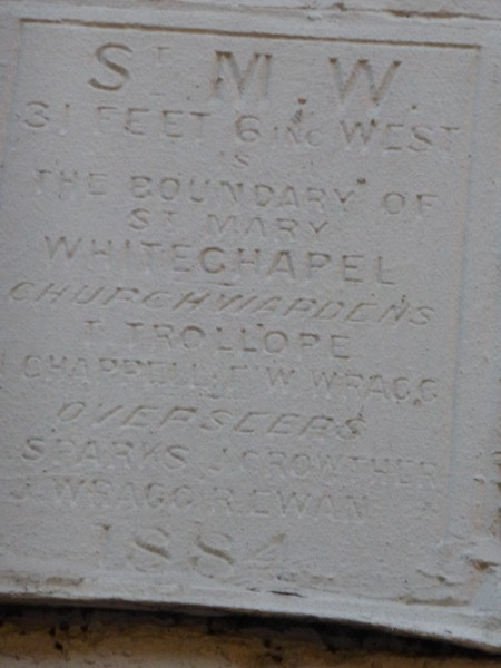 St Mary Whitechapel (Wentworth Road)