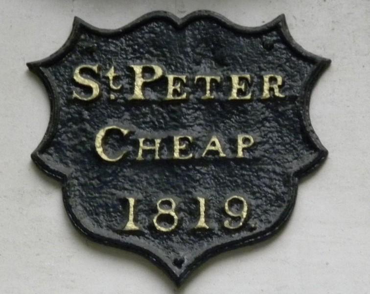 St Peter Cheap (Cheapside)