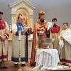Rev. Fr. Armash Bagdasarian performs the Blessing of Water service at Soorp Haroutiun Church in Orlando, FL.