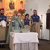 Rev. Fr. Vartan Joulfayan performs the Blessing of Water ceremony at St. Mary Church of Hollywood, FL.