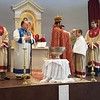 Rev. Fr. Armash Bagdasarian blesses the godfather of the cross at Soorp Haroutiun Church in Orlando, FL.