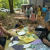 An Easter egg hunt and activities for kids in Atlanta, GA.