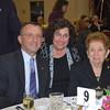 James M. Kalustian, Karen Martin, Banquet Coordinator, and Mimi Kalustian.