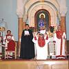 Archbishop Khajag Barsamian ordains Armen Skenderian to the diaconate.