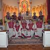 Altar servers with Fr. Khachatur Kesablyan at Sts. Vartanantz Church, Chelmsford, MA.