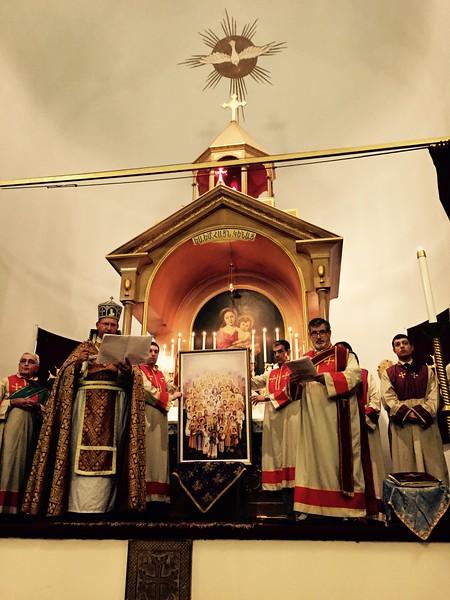 Holy Cross Church of Armenia, New York City.