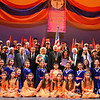 Shushi dancer with Maestro Konstantin Petrossian, Armen Hovannesyan, Salpi Mailyan, Rev. Fr. Shnork Souin, Seta Paskalian-Kantardjian, and Andranik Mouradian.