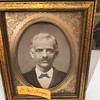 Vintage portrait of Dr. Paul Donigan (Donigian), whose family home is now the historical museum in Brookshire, TX.
