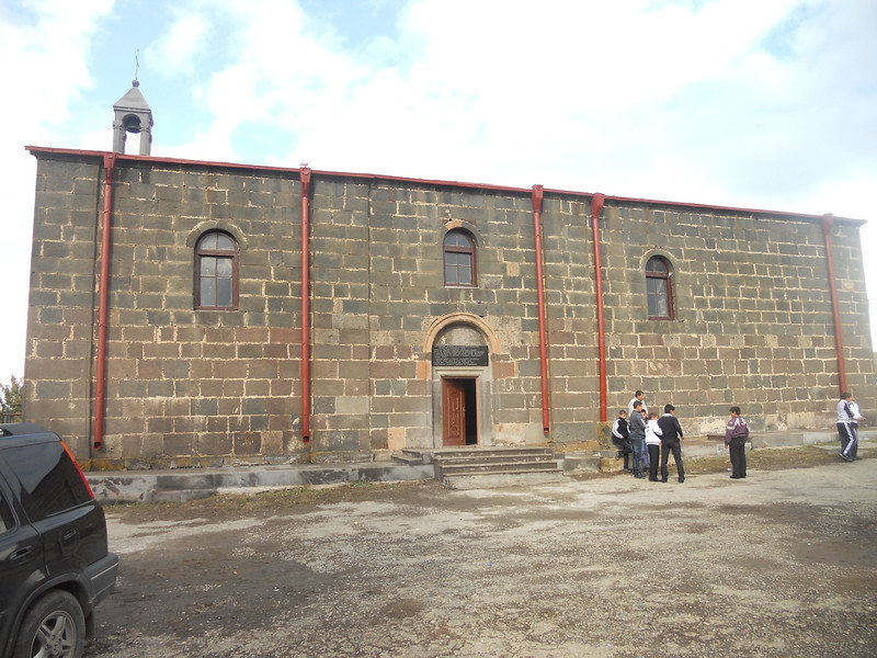 Sourp Asdvadzadzin Church in Lernanist village, Armenia.