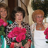 St. John Women's Guild Members Anne Derderian (received by her daughter Denise), Anne Soultanian, and Jean Sarkisian receive a bouquet of roses in celebration of their 90th birthdays in 2014 at the annual Women's Guild Membership Dinner on June 4, 2014 at St. John Armenian Church.