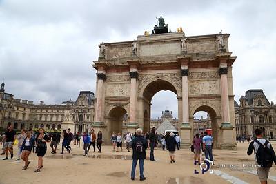 Louvre, Versailles, MontmArte, Sacré Cœur, 2. nap, 2015.08.15.