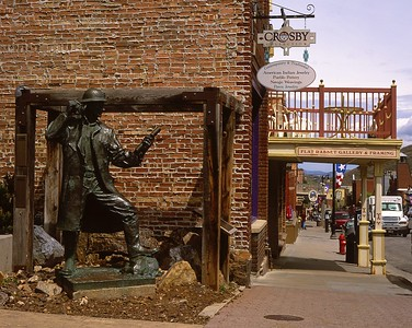 Miner Statue, Main Street Park.