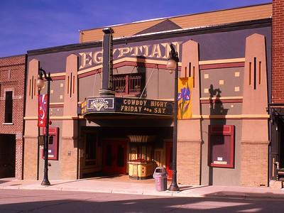 Cowboy Night, Egyptian Theater