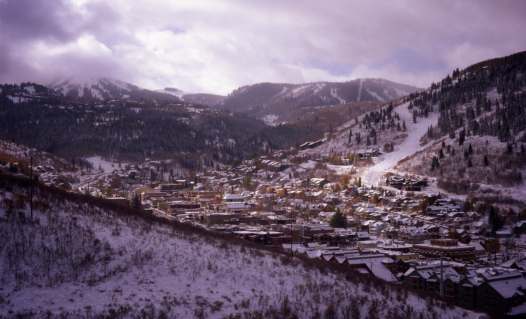 Park City Winter Overlook