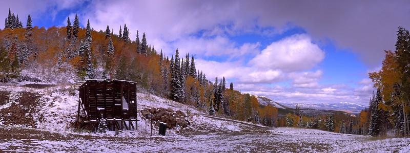 Little Belle Mine Panorama