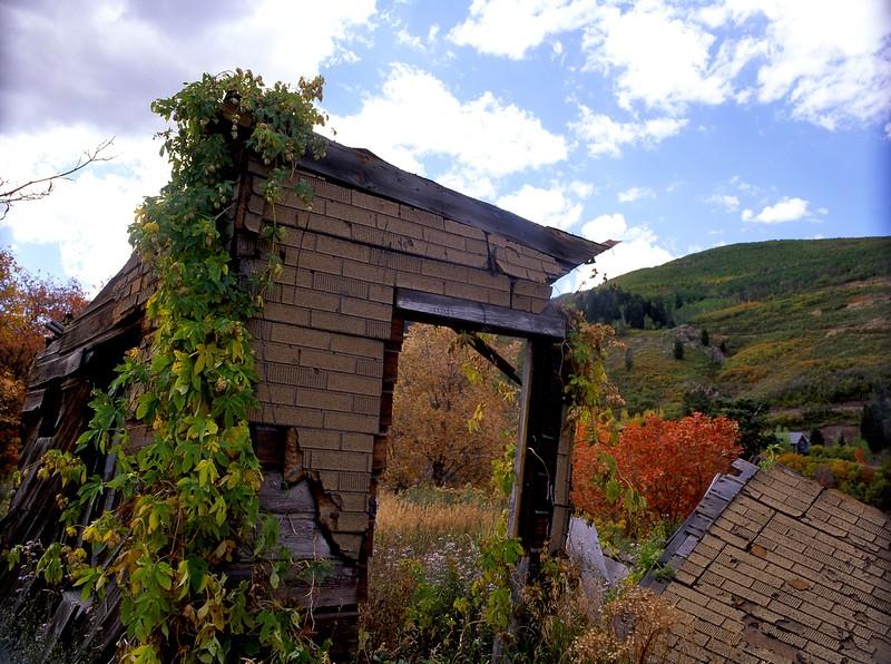Old Miner's Shack, Above Park City, Utah