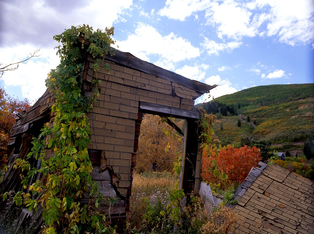 Old Miner's Shack, Above Park City, Utah