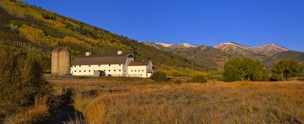 McPolin Farm, Park City, Utah.