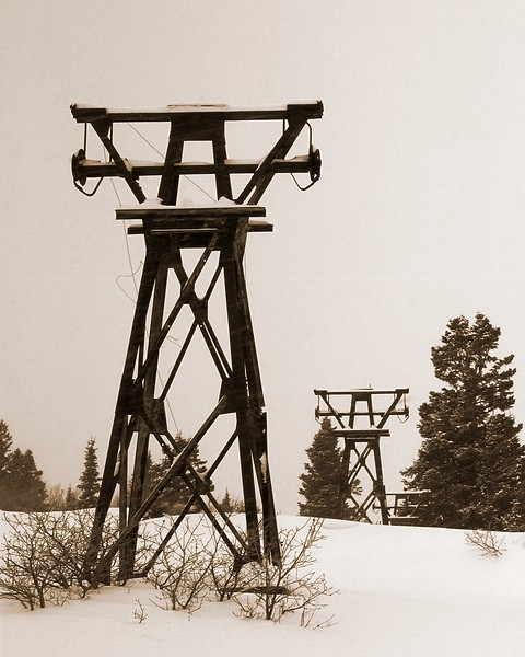 Silver King Mine Towers