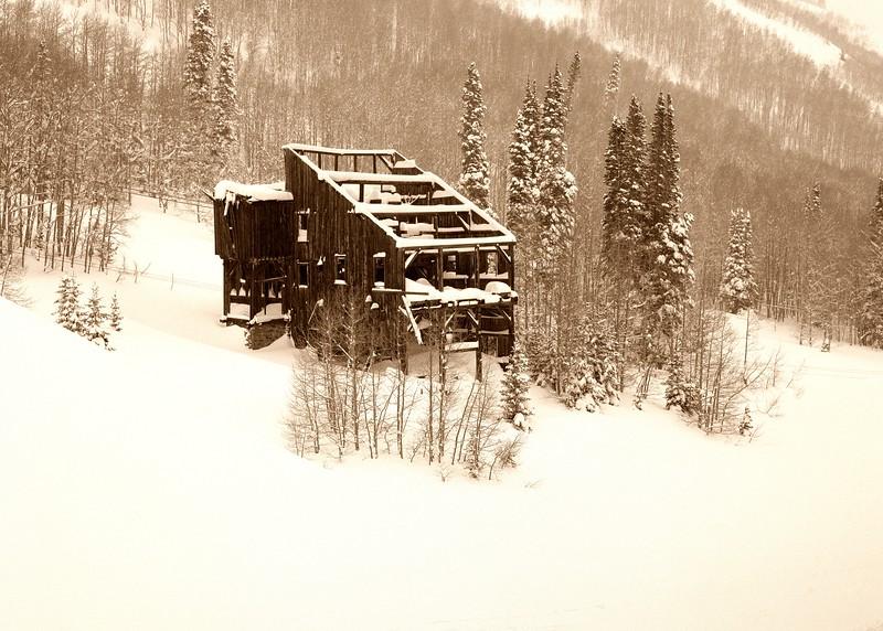 Comstock Mine, Winter