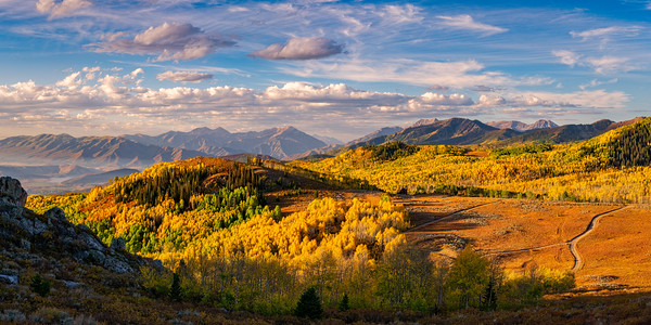 The Wasatch Back from Empire Pass