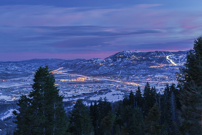 Park City from Red Hawk