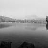 Mirror Lake Black and White