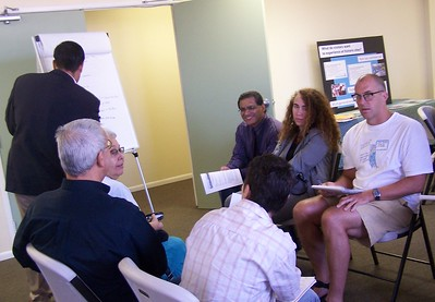 One of the public meetings and community work sessions to enable dialog and input about the Los Angeles State Historic Park's Interpretive Master Plan.