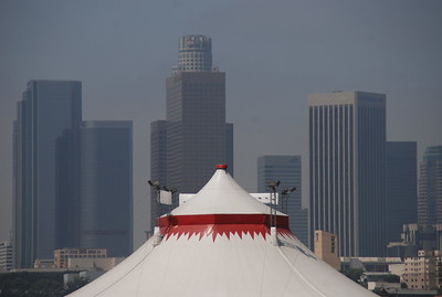 June 25, 2009 Cirque Bezerk at the Los Angeles State Historic Park.