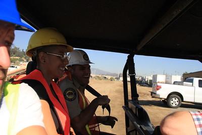 2014, Site Visit During Construction