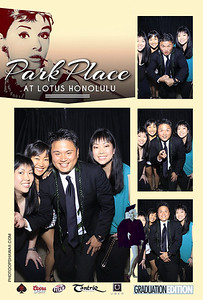 Park Place at Lotus Honolulu 'Graduation Edition' (Stand Up Photo Booth)