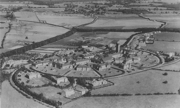 Aerial view taken between 1918 and 1939