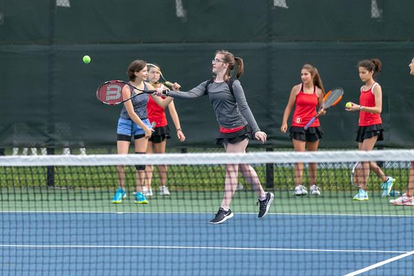 Park Tudor Girls Tennis Senior Night_5/4/18