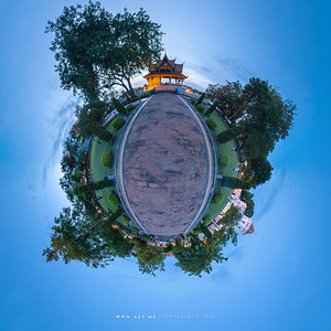Santi Chaiprakarn Park and Phra Sumen Fort