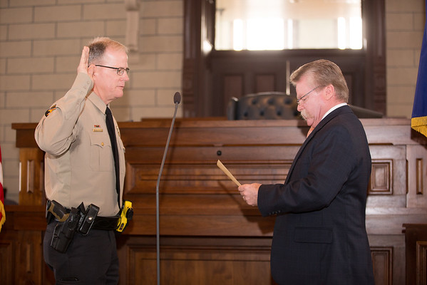 Parker County Elected Officials Swearing In Ceremony