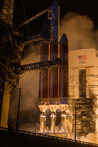 Parker Solar Probe DeltaIVHeavy by United Launch Alliance