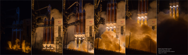 Forged in fire, bound for fire: Parker Solar Probe + Delta IV Heavy