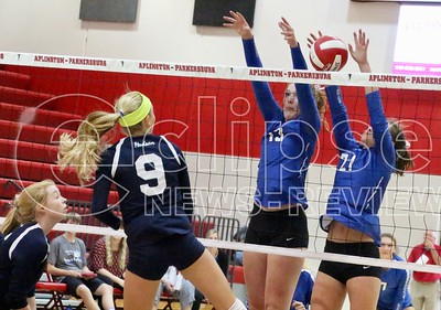 A-P volleyball (w/ Dike-NH) (9/14/17)