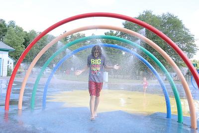 Parkhill Park splash park