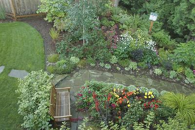 Perrenial garden