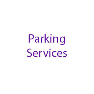 Parking Services Folder Tag, May 2014, Melissa Smith designer