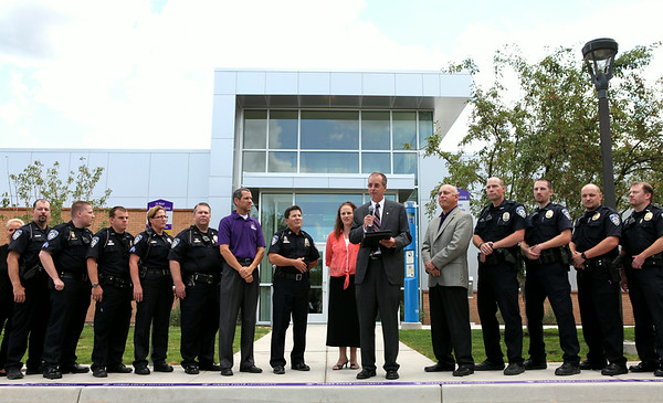 Public Safety Building: Ribbon Cutting Ceremony 2014