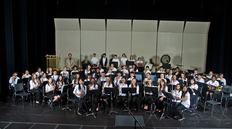 PMS 6th grd band 2012