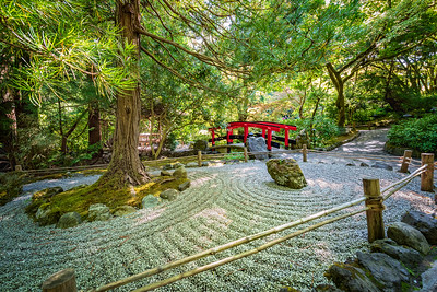 Japanese Garden and Bridge